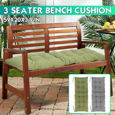 1.5M Tufted Bench Cushion Cushion Seat Replacement 150 * 50cm * 10cm (excluding chair)