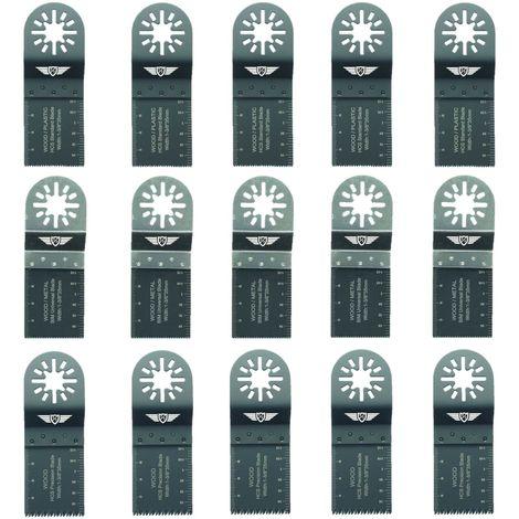 15pcs TopsTools Mix Multitool Blade Kit - UNKB15