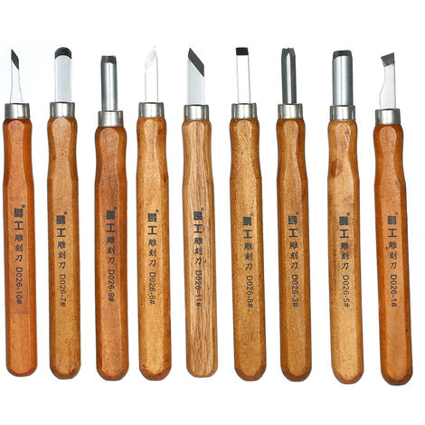 15pcs woodworking carving knife set carving tool D026