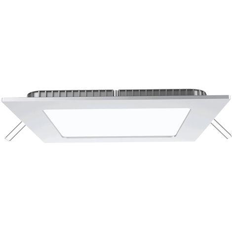 15W LED Plafonnier Carré blanc naturel + Driver