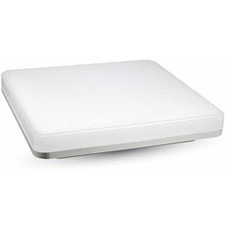 15W Plafonnier Surface LED Dome Trimless1250LM IP44 A+ Mod. VT-8033 -SKU 5567 Blanc Neutre 4000k