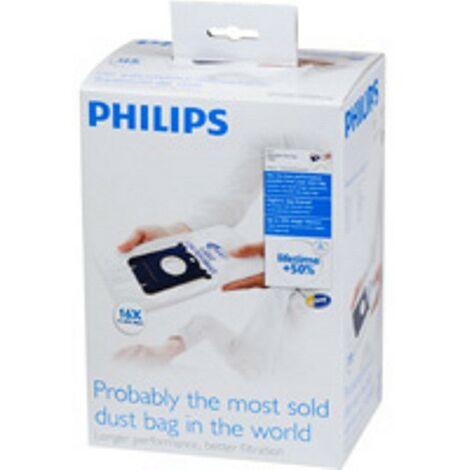 10 Staubsaugerbeutel 2 Filter passend für Philips Performer Pro FC9180-FC9199