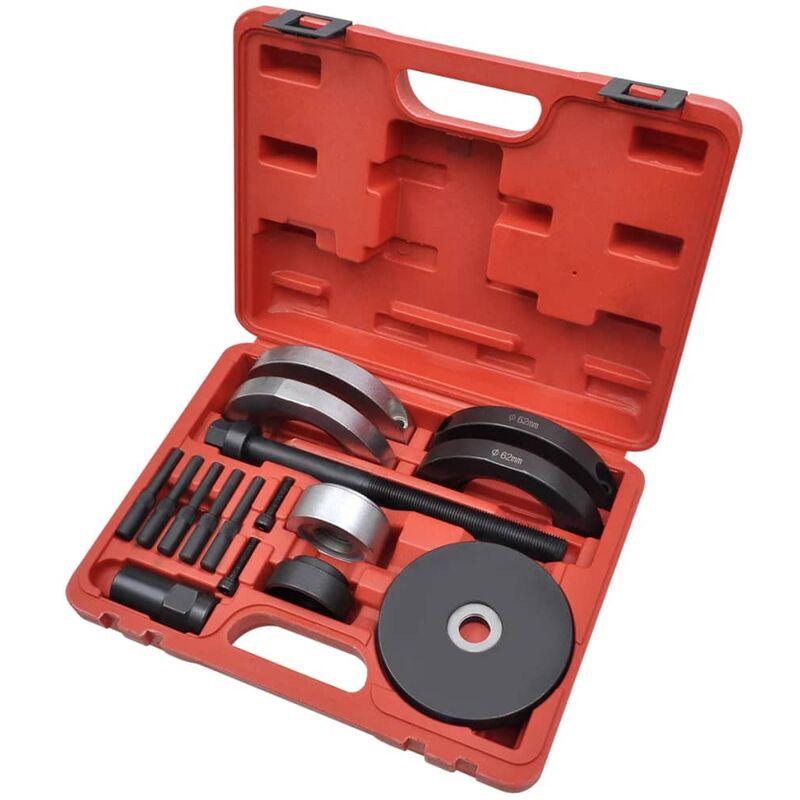 Youthup - 16 pcs Kit d'outils de roulement de roue 62 mm pour VAG