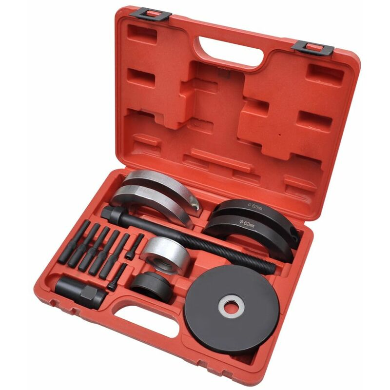 Asupermall - 16 pcs Kit d'outils de roulement de roue 62 mm pour VAG