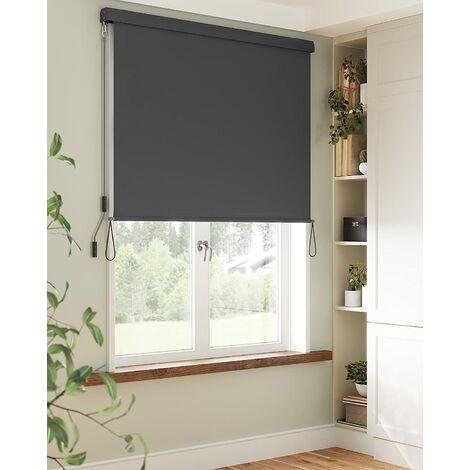 1.6 x 2.5m Senkrechtmarkise für Balkon, Terrasse, Vertikalmarkise für außen, Markise für Windschutz, Sonnenschutz und Sichtschutz, wasserfest