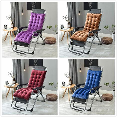 160 * 50 * 10cm Sofa Seat Cushion Garden Chair Recliner Lounge Chair Replacement Cushion (Royal Blue, 160cm by 50cm by 10cm)