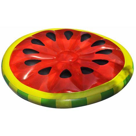 160 cm cama inflable de agua patrón de sandía flotante piscina juguete de playa LAVENTE