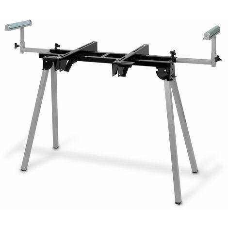 1600 mm Soporte universal para Sierra ingletadora (136 kg Capacidad, 780 mm Altura de la mesa, Soporte de rodillo, Pies plegables)