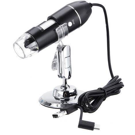 1600X USB Zoom 8 LED Microscopio digital Lupa Endoscopio Cámara de video