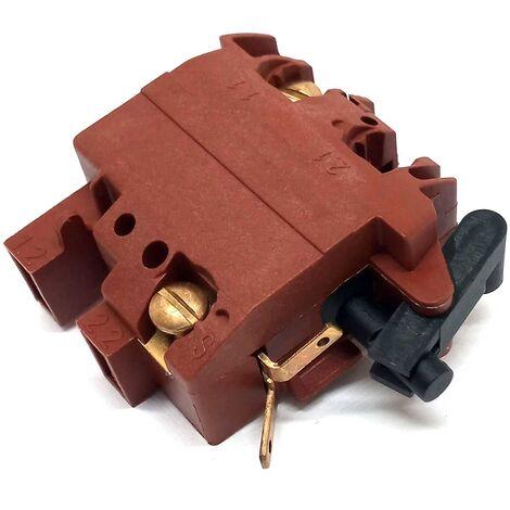 1607200086 Switch for Angle Grinders GWS 10-125C, GWS 6-115 : Genuine BOSCH