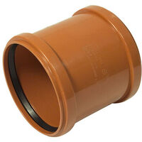 160mm Drainage Slip Coupling Double Socket