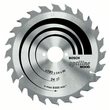 Ø 160mm Kreissägeblatt Optiline Wood für Handkreissäge