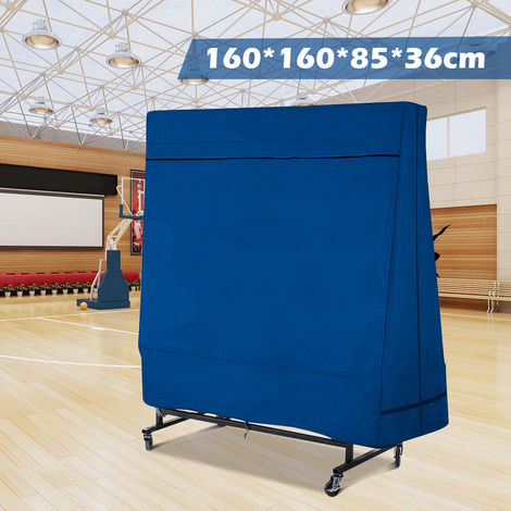 (160X160X85X36Cm Waterproof Table Tennis Table Cover) Protective Cover For Indoor / Outdoor Ping Pong Table