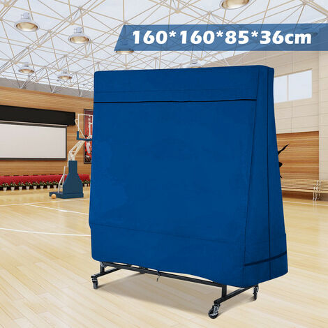 (160x160x85x36cm Waterproof table tennis table cover)Protective cover for table tennis table inside / outside Pong Table Mohoo