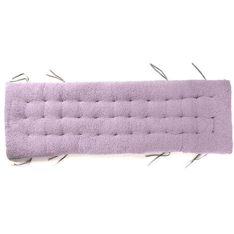 160x50x12cm Winter Recliner Cushion Cotton Chair Cushion Light Purple