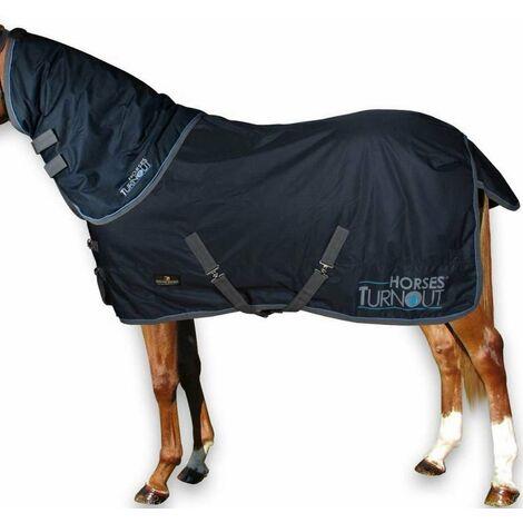 """main image of """"Couverture imperméable Paddock  più  Paddock pour aiguillage à motif collier 200g Horses"""""""