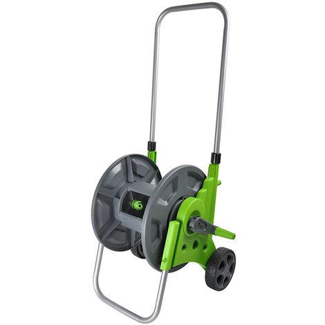 164ft Garden Water Hose Reel Cart with Wheels Portable 2-Wheel Watering Outdoor Landscape Pipe Storage Basket Reel Cart