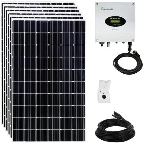 1680 Watt Solaranlage Photovoltaikanlage Plug & Play für die Steckdose mit WiFi