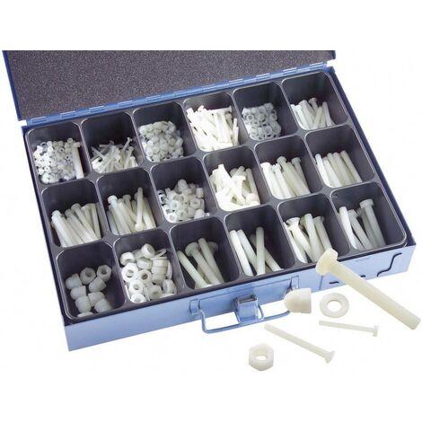 16900 Kunststoffschrauben-Sortiment 1005 Teile C64576