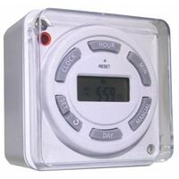 16A Digital immersion heater timer