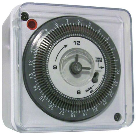 16A Light or immersion heater mechanical timer