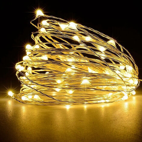 16FT 50LEDs String Lights USB Fairy Lamp Christmas Halloween Decorative Hanging Lights
