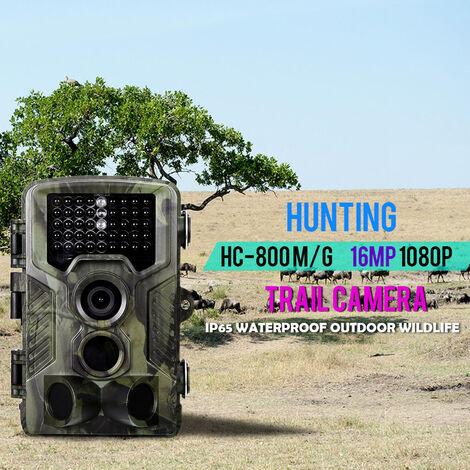 """main image of """"16MP 1080P 2G MMS SMS Trail Camera Chasse Jeu Camera Exterieure Camera De Scoutisme De La Faune Avec Capteur PIR Infrarouge Vision Nocturne 0.3s Super Fast Trigger IP65 etanche, modele: HC-800MG"""""""