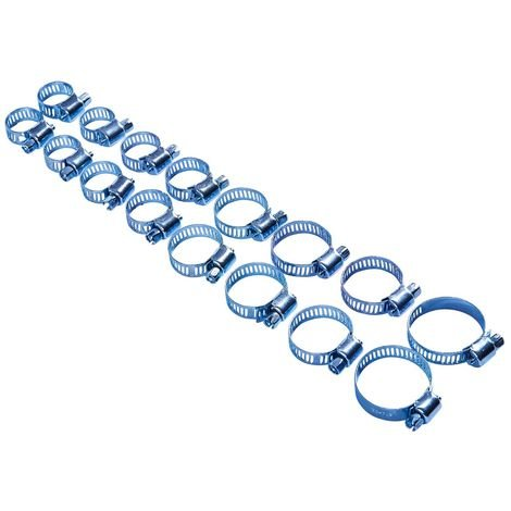 16pc Hose Clip Set