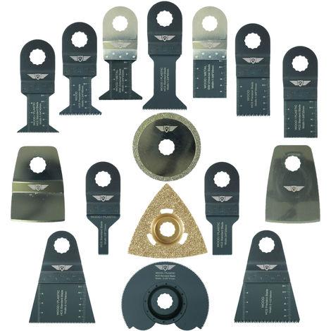 16pcs TopsTools Mix Multitool Blade Kit - RVK16