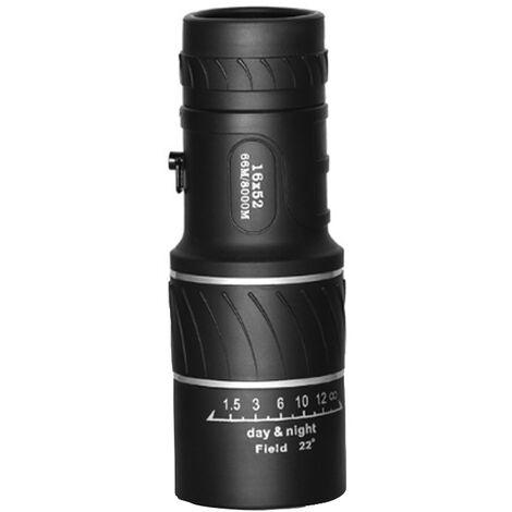 16X Telescope Monoculaire Haute Definition Oculaire De Mise Au Point Resistance Eau Mini Portee Portable Pour Les Voyages Hunt Sports De Plein Air
