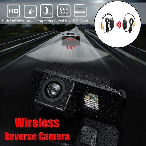 170° Caméra de Recul de Voiture Sans Fil CCD Pour Ford Mondeo Fiesta Focus S-Max Kuga