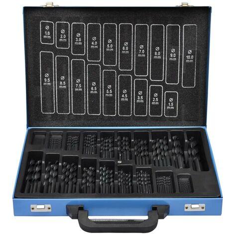 170-Piece Drill Bit Set in Metal Box HSS-R VD03459