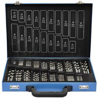170 Piece Twist Drill Bit Set HSS