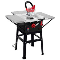 1700 Watts Bench Table Saw with Stand (Side Extensions, 73 mm Cutting Height, Paralel Guide 254 mm Carbide Saw Blade, Tiltable up to 45°)