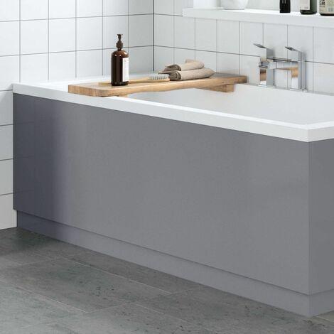 1700mm Bathroom Front Bath Panel Light Grey