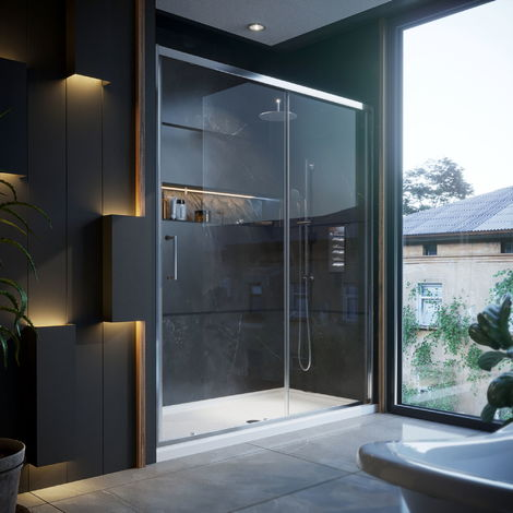 1700mm Sliding Shower Door