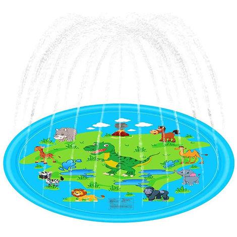 170cm Outdoor Lawn Beach Animal Inflatable Water Spray Kids Sprinkler Mat
