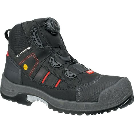 1718 Jalas Zenit Black Easy Roll Safety Boots