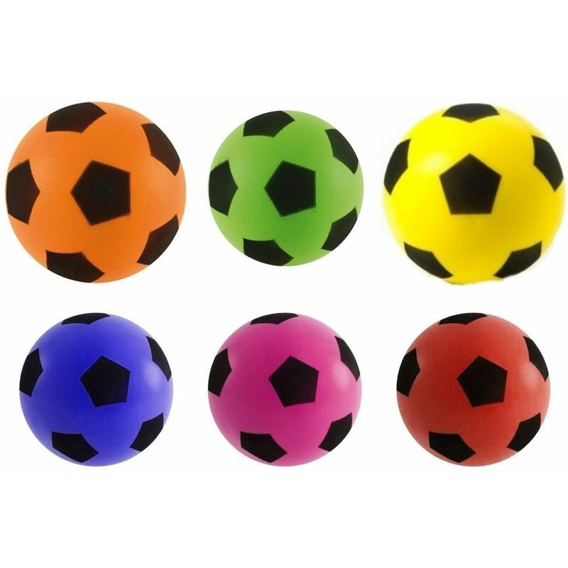 Image of 17.5Cm Sponge Football Foam Outdoor Indoor Kids Fun Play Game Soccer Toy