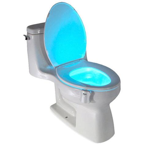 177210 Luz LED LightBowl para el WC 8 colores con sensor crepuscular