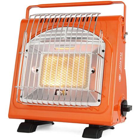 1.7KW calentador portatil multifuncional Calentador de espacios de gas calentador de ceramica del calentador ajustable estufa para la tienda de campana al aire libre de la comida campestre, JY-Q1000