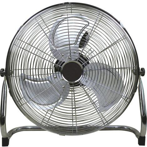 """18"""" Chrome 3-SPEED Floor Fan"""
