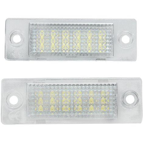 18-LED Eclairage Plaque D'immatriculation 12V Pour VW Caddy Golf Passat Touran