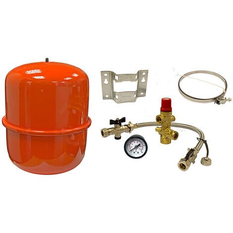 18 Litre Zilmet Cal-Pro Red Heating Expansion Vessel with Sealed System Kit