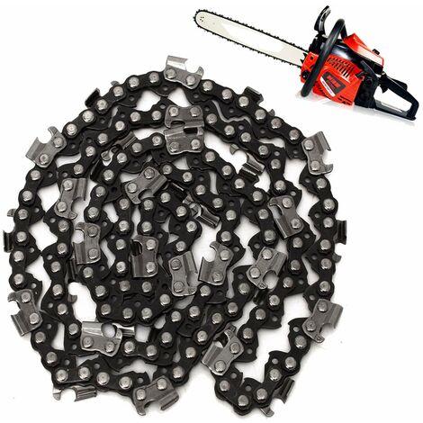 18 pulgadas 72 eslabones .325 Cadena 1.3 / 1.5mm Motosierra Sierra de gasolina Repuesto 4500/5200