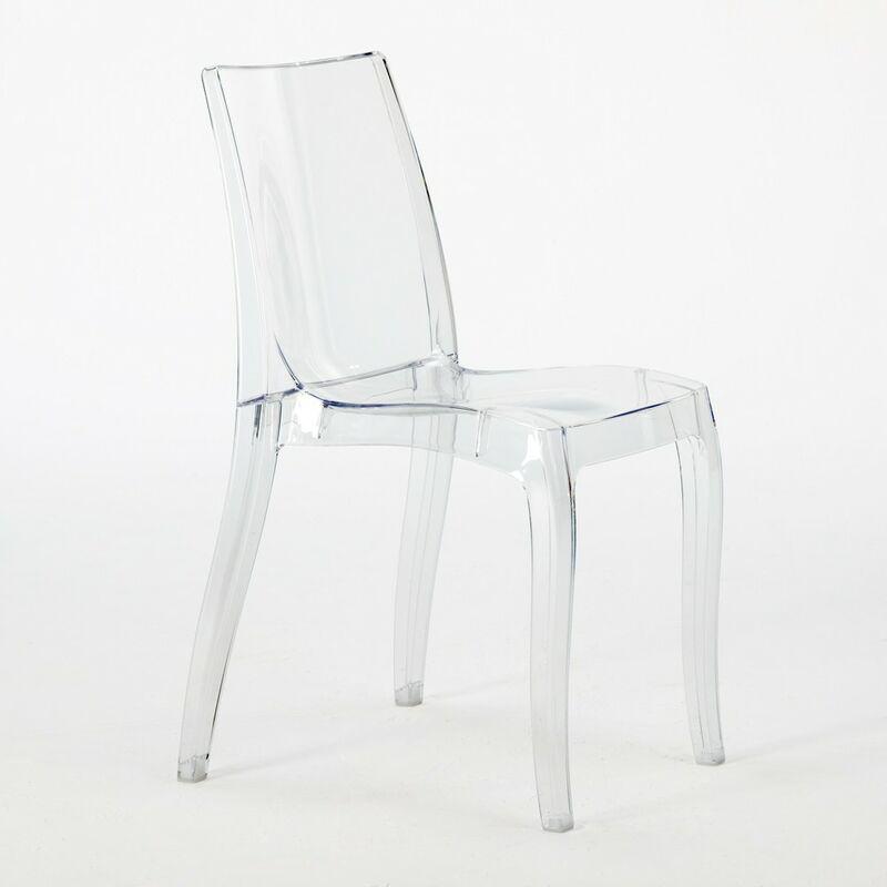 Sedie Trasparenti Usate.18 Sedie Cristal Light Grand Soleil Trasparenti Offerta Stock Per Bar