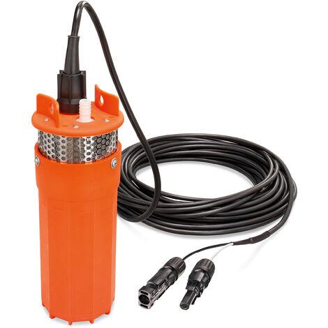 18 V pompe solaire pour fontaine profonde 30mhauteur de refoulement pompe à eau MC4 jardin esotec 100802
