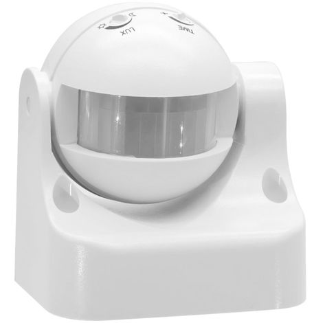 180 degree infrared motion sensor automatic light switch white