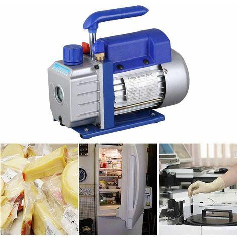 180 W kit de Pompe à Vide Professionnel 2,5 CFM 1/4HP 1440r/min Faible Bruit Pompe à Vide Climatisation réfrigération