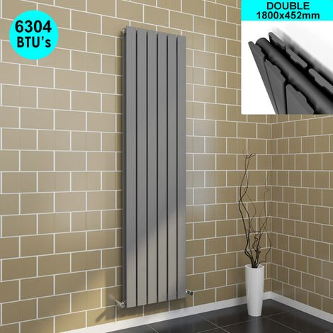 1800 x 452 mm Designer Vertical Column Radiator